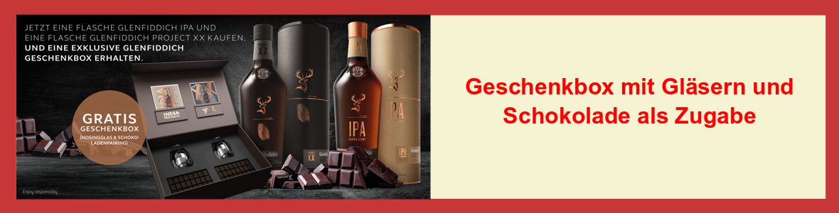 Werbung - Glenfiddich IPA XX