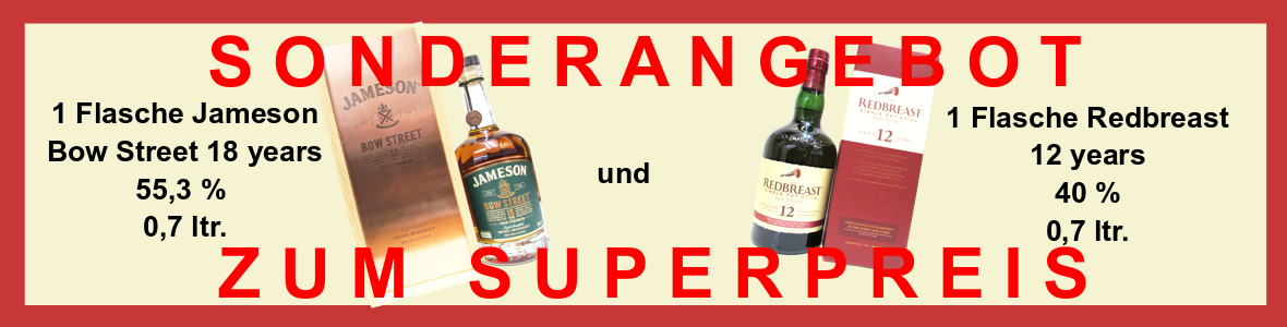Werbung - Jameson 18 Redbreast 12